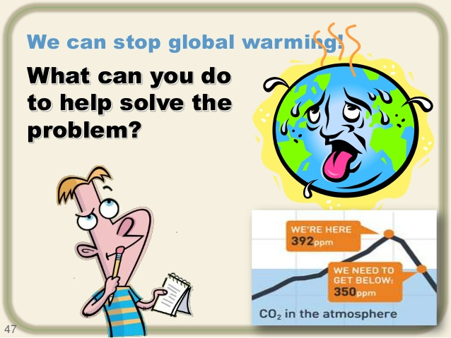 Fifteen Steps Reduce To Global Warming in House